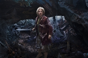Bilbo Baggins in Hollywood Movie The Hobbit  Wallpaper