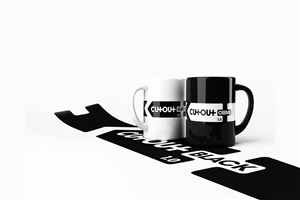 Black and White Mug Desktop Wallpaper