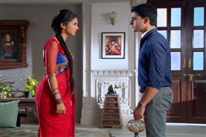 Gautam Rode as Saraswatichandra and Kumud Sundari in Hindi TV Serial High Quality Photos