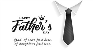 Happy Fathers Day Wallpaper with Quote