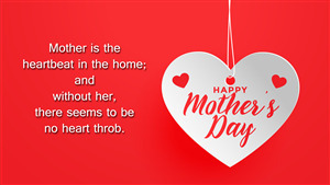 Happy Mothers Day 5K Quote Wallpaper