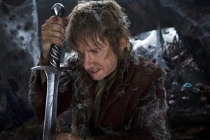 Martin Freeman in Hollywood Movie The Hobbit  Wallpaper