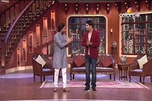 Saif Ali Khan in Hindi TV Serial Comedy Nights with Kapil Wallpapers