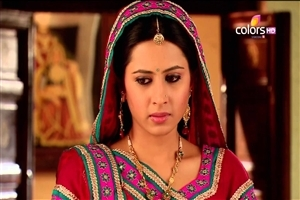Sriti Jha as a Ganga on TV Serial Balika Vadhu