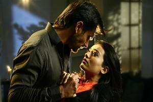 Surbhi Jyoti as Zoya Khan and Karan Singh Grover as Asad Ahmed Khan TV Serial Wallpaper