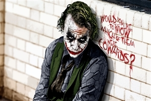 The Joker in Batman Movie Wallpaper