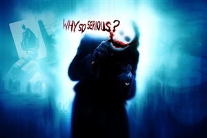 Why So Serious The Dark Knight Joker HD Wallpaper