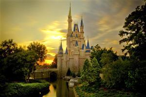 Amazing Beautiful Cinderella Castle Image Free Download