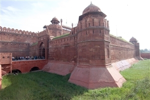 Amazing Beautiful Red Fort in Delhi India Wonderful Wallpapers