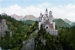 Amazing Look of Castle in Germany HD Wallpapers