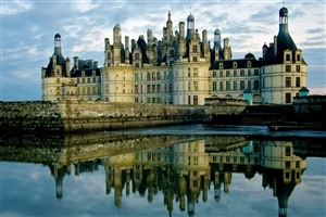 Beautiful Palace in France HD Photo