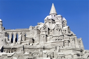 Beautiful Sand Palace Photo