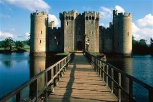 Bodiam Castle in England Wallpaper