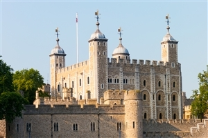 Castle Tower of London in England Photo