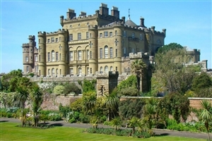 Culzean Castle in Scotland HD Photo