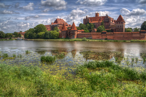 Malbork Castle in Poland Tourist Attractions 4K Wallpapers