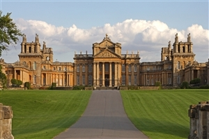 Royal Residence Blenheim Palace in UK