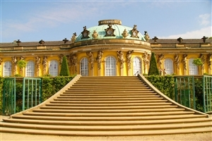 Sanssouci Palace in Potsdam Germany Wallpaper