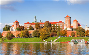 Wawel Castle in Krakow Poland HD Wallpaper