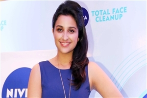 Parineeti Chopra in Blue Dress Pic