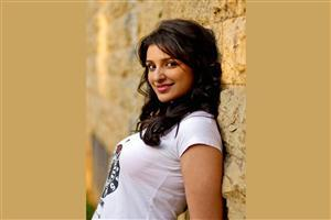 Parineeti Chopra in White TShirt