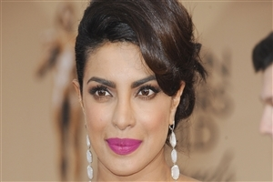 Beautiful Priyanka Chopra in Pink Lips