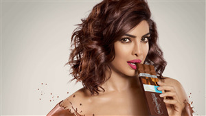 Cute Priyanka Chopra with Chocolate Photo