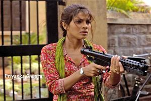 Priyanka Chopra With Machine Gun