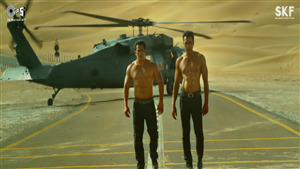 Actor Salman Khan and Bobby Deol Body Pic in Race 3