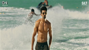 Actor Saqib Saleem Body Pic in Race 3