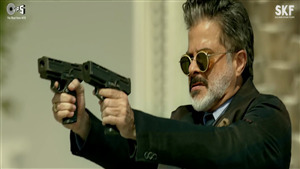 Anil Kapoor Double Gun Shoot in Film Race 3