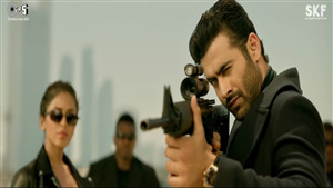 Freddy Daruwala Gun Shooting in Race 3