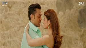 Jacqueline Fernandez with Bobby Deol in Race 3 Selfish Song