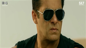 Race 3 Film Actor Salman Khan in Black Sunglass