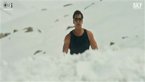 Race 3 Star Salman Khan in Snow