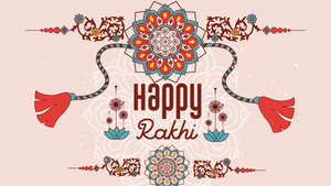Happy Rakhi HD Desktop Photo