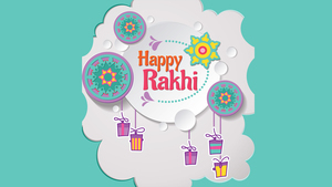 Happy Rakhi HD Photo Background