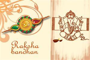 Raksha Bandhan Greetings Wallpaper