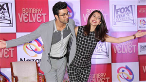 Bollywood Actor Ranbir Kapoor with Actress Anushka