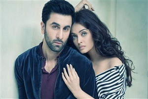 Bollywood Celebrity Ranbir Kapoor and Aishwarya Rai Image