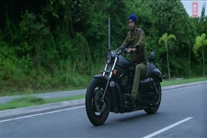 Ranbir Kapoor on Bike in Hindi Bollywood Film Roy Wallpapers