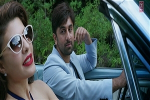 Ranbir Kapoor with Jacqueline Fernandez in Car Latest Movie Roy HD Pics