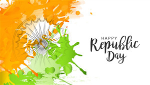 5K Pic of Happy Republic Day