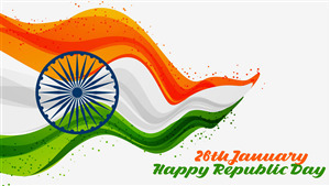 5K Wallpaper of Indian Republic Day