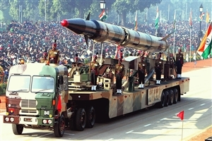 Agni II Missile on Republic Day Pared Photos