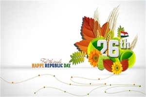 Amazing 26 January Happy Republic Day Greetings HD Wallpapers