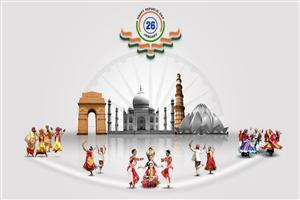 Beautiful Wallpaper of Indian Republic Day Celebration
