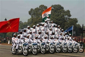 Bikes Pared on 26 January Happy Republic Day Images