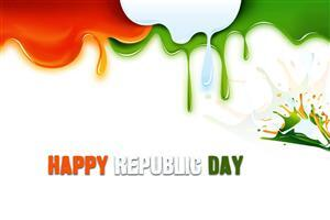 Colorful Indian Republic Day Wallpaper