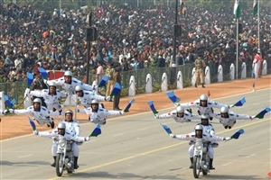 Happy Republic Day Bikes Pared on 26 January Photos